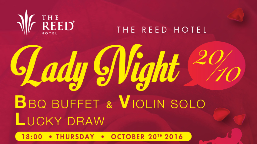 """LADY NIGHT"" : Seafood Buffet for Vietnamese Women Day 2016 at The Reed Hotel"