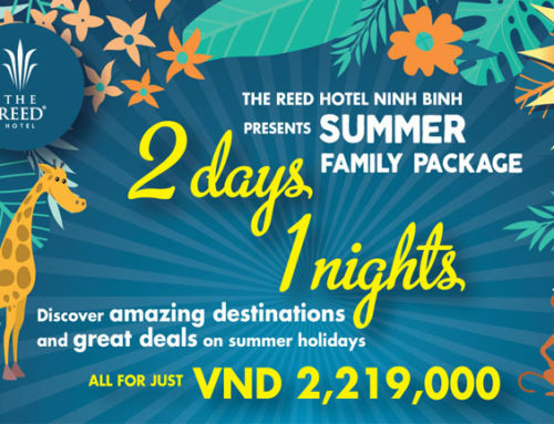 """Summer Family Package"" at The Reed Hotel Ninh Binh"