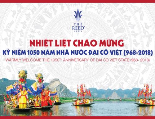 Đại lễ kỷ niệm 1.050 năm Nhà nước Đại Cồ Việt diễn ra tại Ninh Bình tháng 4 năm2018