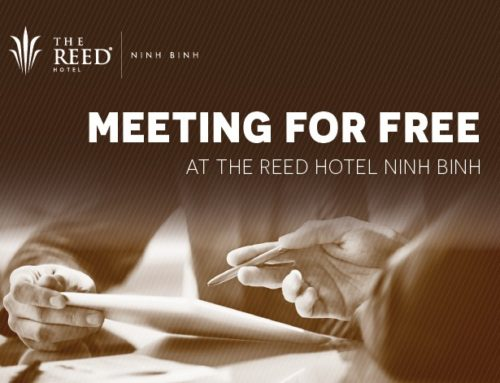 Meeting for free at The Reed Hotel Ninh Binh
