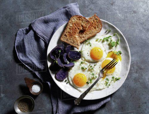 Menu ăn sáng mới tại Aria Cafe