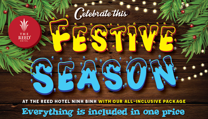 "All-inclusive package for this ""Festive Season"" at The Reed Hotel"